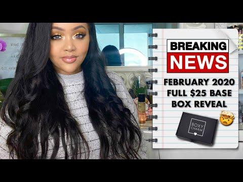 FEBRUARY 2020 FEBRUARY 2020 $25 BASE BOX FULL REVEAL ||  SPOILER VIDEO || BOXYCHARMSNEAKPEEK