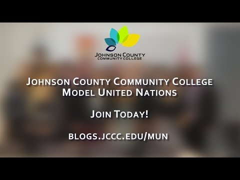 Johnson County Community College Model United Nations: Join Today!