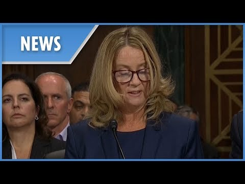 Brett Kavanaugh hearing  Dr Christine Ford feared rape and death during alleged sexual assault