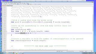 Hangman Javascript
