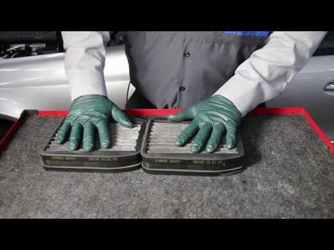 How to change the cabin and air filter ml class hd doovi for What size cabin air filter do i need