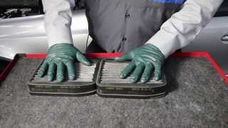 1996 to 2006 mercedes benz part 6 cabin air filters need changing