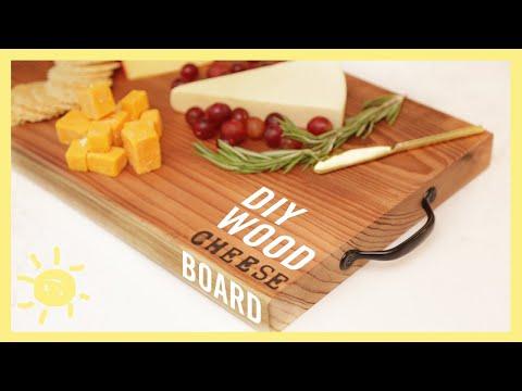 EAT | DIY Wood Cheese Board!