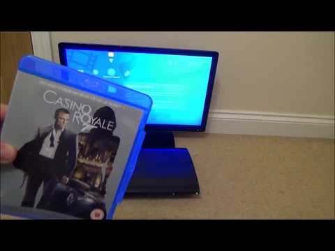 What happens when you put a Blu-ray Disc in a PlayStation 3