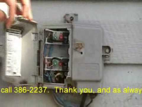 Phone_Instructions.wmv Outside Telephone Box Wiring Diagram on