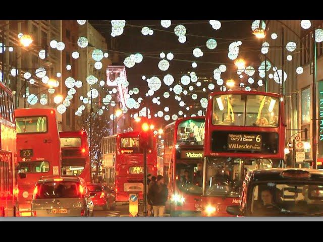 - SELFRIDGES And OXFORD STREET LONDON CHRISTMAS LIGHTS 2014