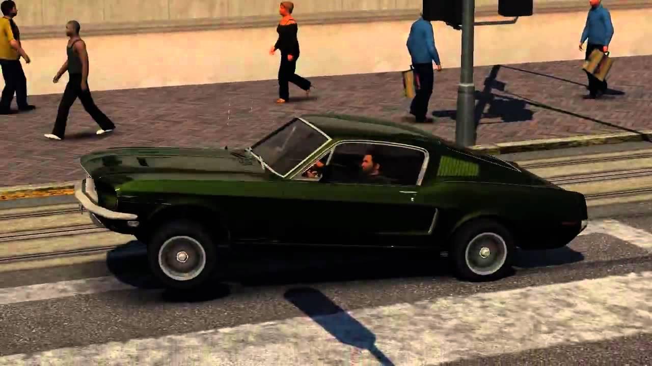 San Francisco Car Show >> DRIVER: San Francisco - Bullitt Chase - Film Director w/ leapfrog jump - YouTube