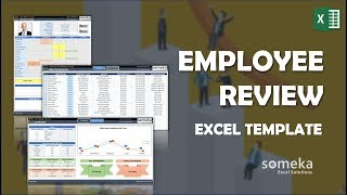 Download here: https://www.someka.net/excel-template/employee-review-template/ this employee review template will be useful to provide valuable evaluation fe...