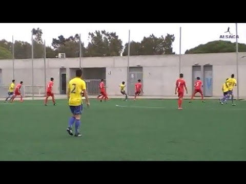 "ALSACA2016 Balón de Cádiz C.F. ""B"" - C.D. Guadalcacín 1er Tiempo Jornada 29 Temporada 2015 - 16"