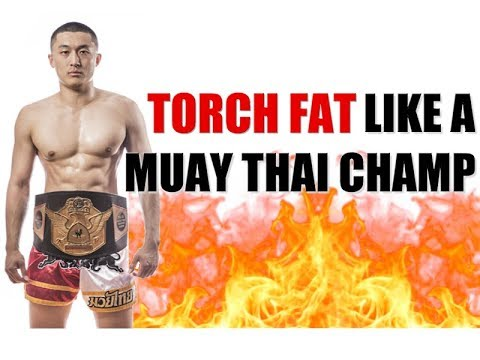 Fighters Conditioning Workout ft. Muay Thai Champion Mike Zhang