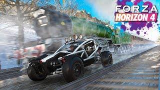 Что быстрее Багги или Поезд в Forza Horizon 4?!
