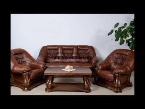 Кожаные диваны и кресла фото