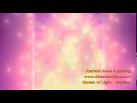 Queen of Light meditation & gift: Cosmic Light Substance to expand the points of Light in your body