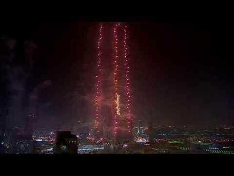 Downtown Dubai New Year's Eve 2015 Gadget - Fountain View