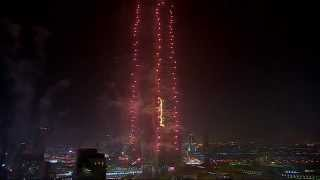 Downtown Dubai New Year's Eve 2015 Gadget - Fountain View