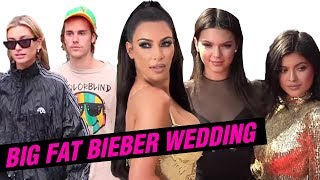 Justin Bieber Hailey Baldwin WEDDING DANCE, Kardashian and Hadid Girls DANCE TOO?