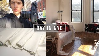NYC Fabric Shopping & Apartment Updates