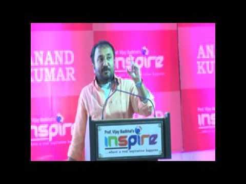 Anand Kumar Super 30 IIT Guidance Seminar at Inspire Chandrapur