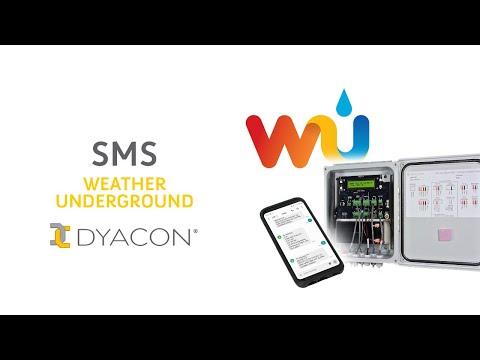 SMS - Weather Underground