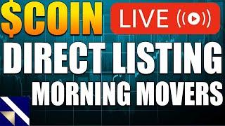 CoinBase IPO - COIN Stock Goes Live - Market Open Analysis - Crypto - Bitcoin News BTC | VectorVest