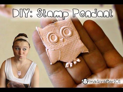DIY: Stamp Pendant