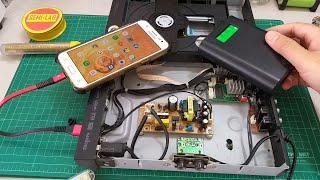 ดัดแปลง DVD VCD เพื่อชาร์จ Smartphone และ Power Bank สำหรับนัก DIY และผู้ที่ชื่นชอบการทดสอบทดลอง