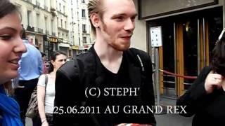 Gregory Deck devant le Grand Rex [25.06.2011]