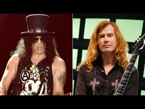 Slash Says Maybe to Dave Mustaine Collaboration
