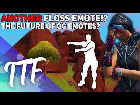 ANOTHER FLOSS? The Future Of Battle Pass Emotes? (Fortnite Battle Royale)