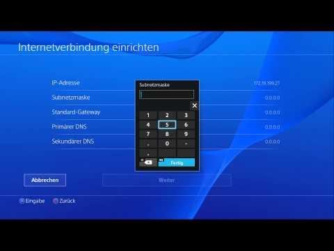 PS4 DNS-Fehler NW-31250-1 austricksen (Beschreibung lesen!!)