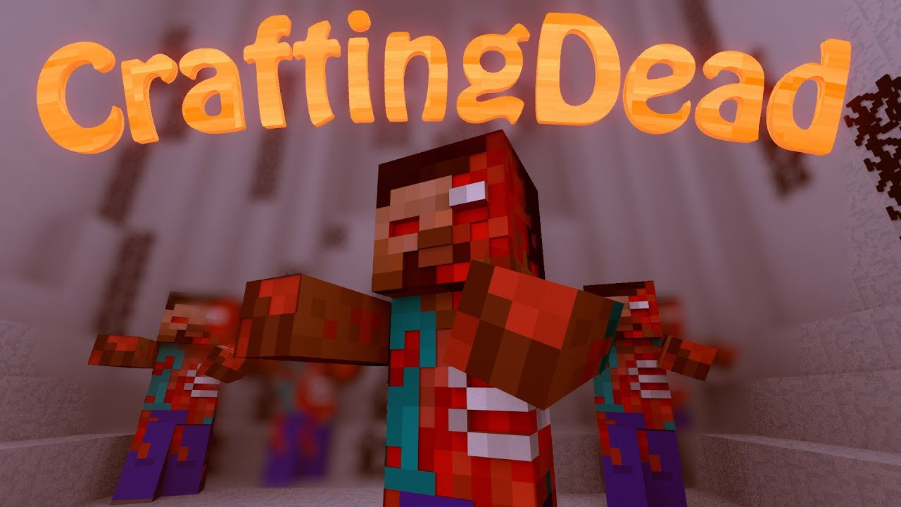 the crafting dead mod walking dead mod minecraft crafting dead mod showcase 5576