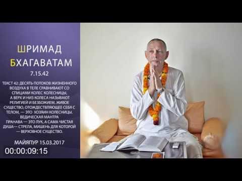 Шримад Бхагаватам 7.15.42 - Враджендра Кумар прабху