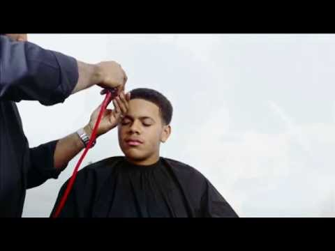 HOW TO CUT A MINI BLOWOUT AFRO WITH A TAPER