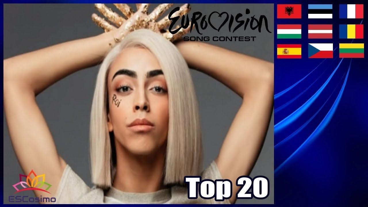 Eurovision Season 2019: My Top 20 (So Far) | ESCosimo