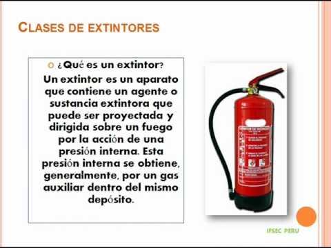 Lucha contra incendios y uso y manejo de extintores thumbnail