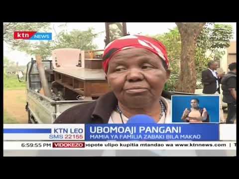Wakazi wa Pangani hawana makao, serikali ya kaunti ikibomoa nyumba zao