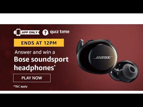 amazon-quiz-answer-and-win-a-bose-soundsport-headphones