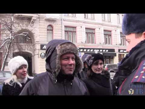 Митинг обманутых вкладчиков Мастер-банка