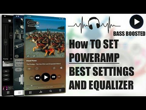 Poweramp best settings build.by TECH MIRAZ