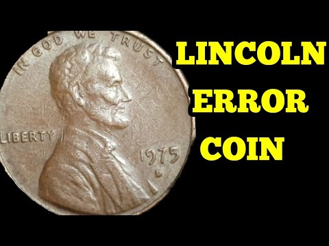United States 1975 Error Penny To Look For