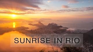 Sunrise in Rio de Janeiro thumbnail