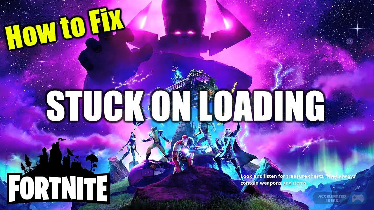 Fortnite Stuck On Logging In Screen Xbox Fortnite Stuck On Loading Screen How To Fix On Pc And Ps4 Youtube