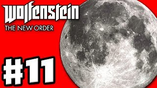 Wolfenstein: The New Order - Gameplay Walkthrough Part 11 - The Moon! (PC, Xbox One, PS4)