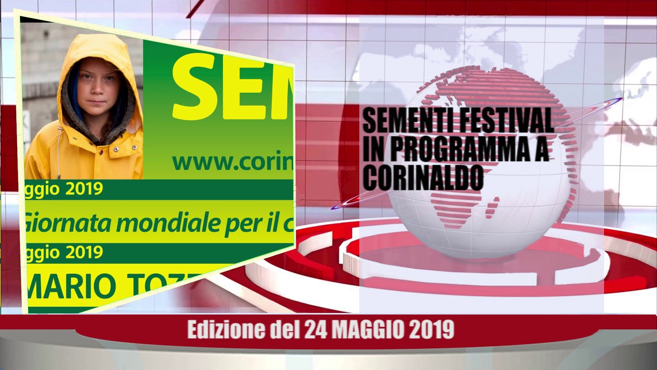 Velluto Notizie Web Tv Senigallia Ed 24 05 19