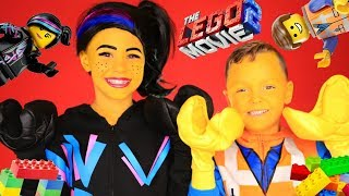 The Lego Movie 2 Lucy and Emmet Makeup and Costumes