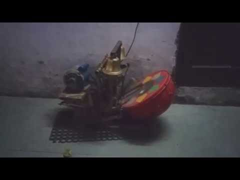 Aarti in temple electric bell