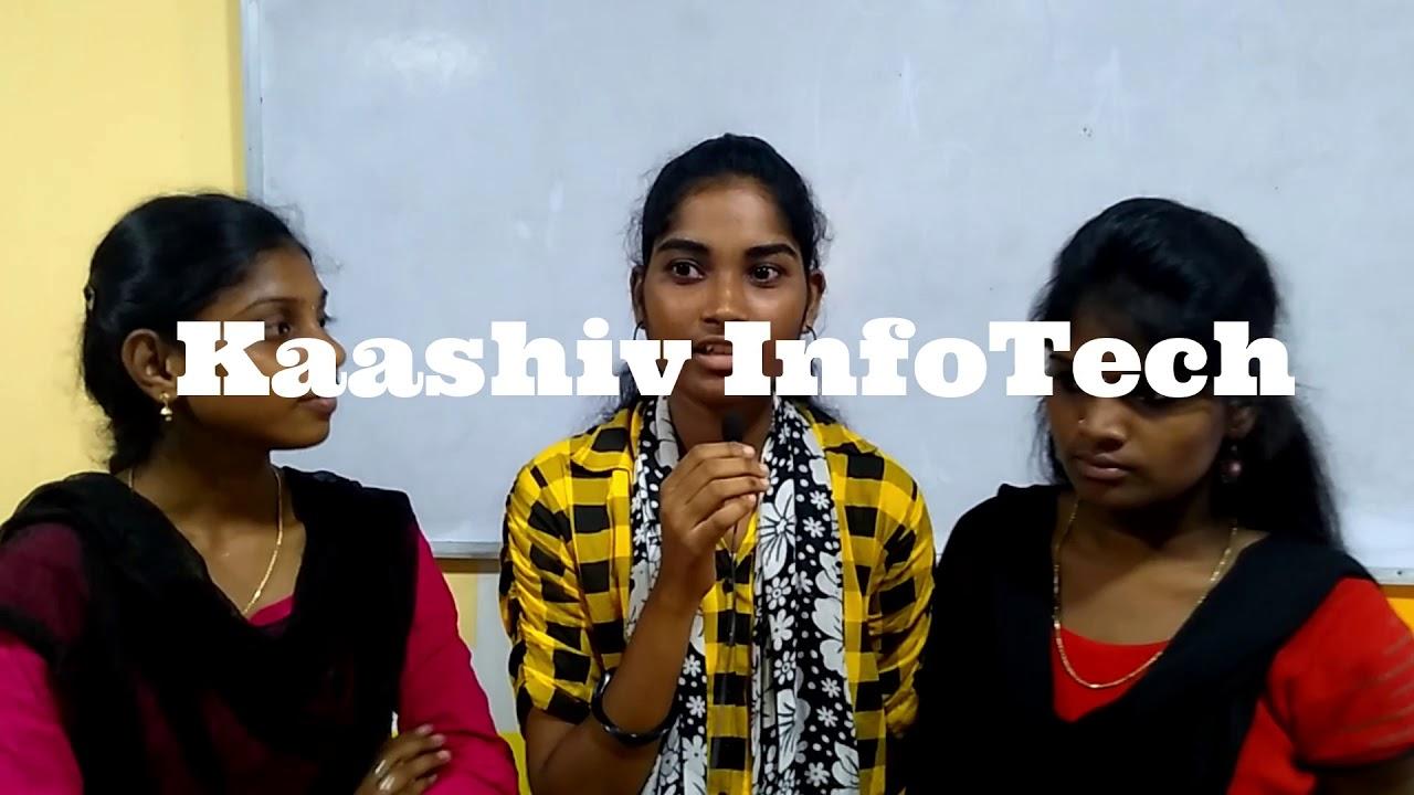 Sri Krishnaswamy College Student Success Story Internship In Chennai Youtube
