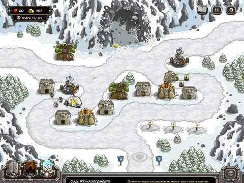 Kingdom Rush - SARELGAZ'S LAIR [veteran] [campaign]  