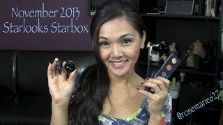 November 2013 Starlooks Starbox Thumbnail