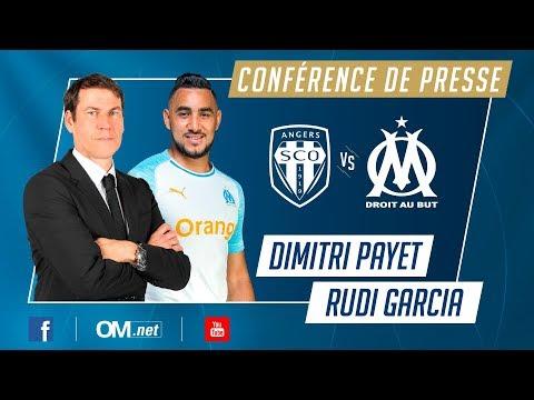 Angers - OM | La conférence de Dimitri Payet et Rudi Garcia